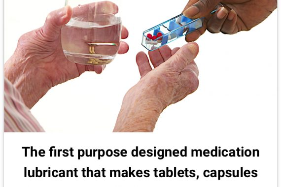 Gloup the first purpose designed medication lubricant