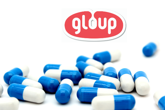 Gloup a medical device to help you swallow medication